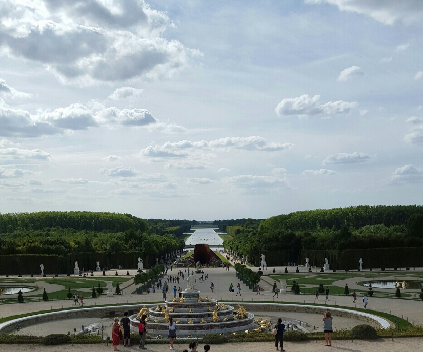 Palace view of canal