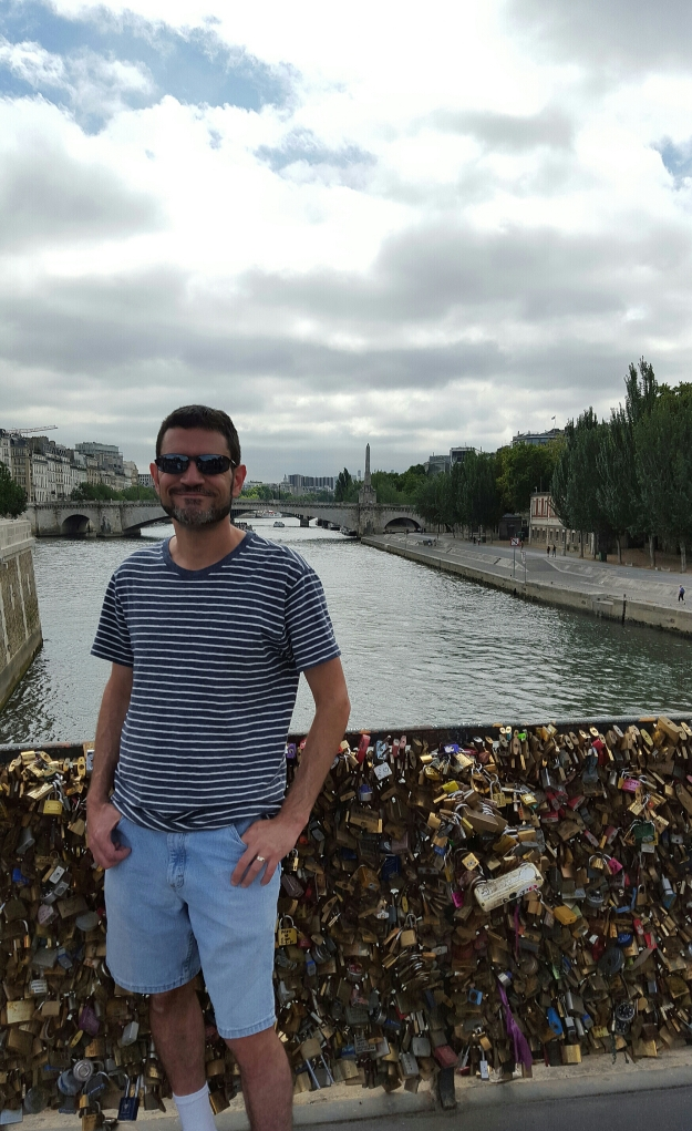 Fun to see the Love Locks bridges before they take them down