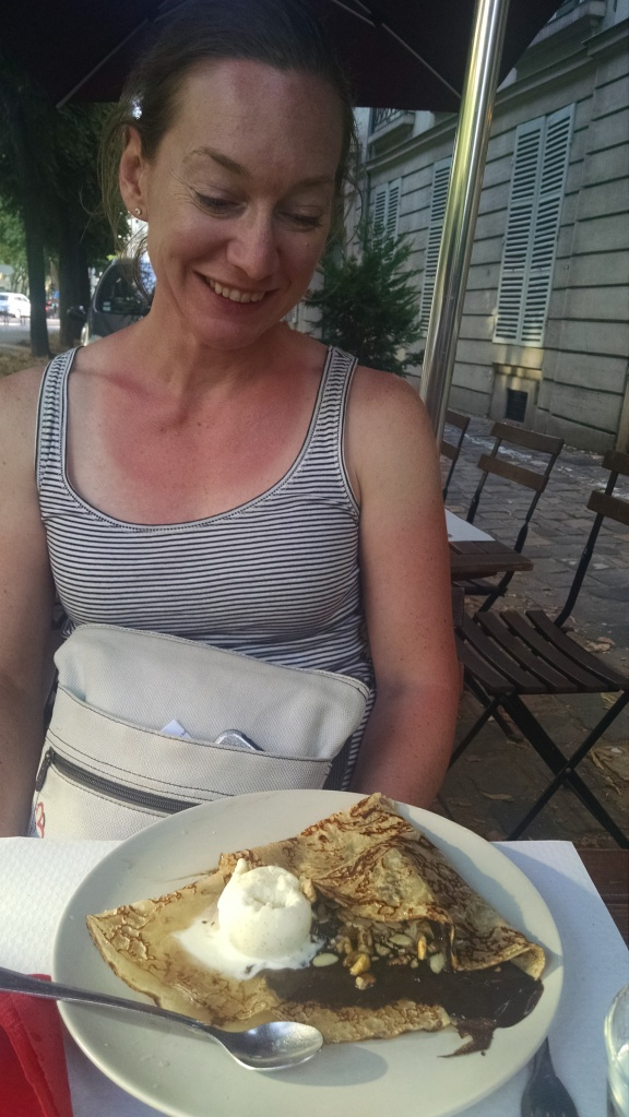 "The question ""Do you want a crepe?"" is always a rhetorical one."