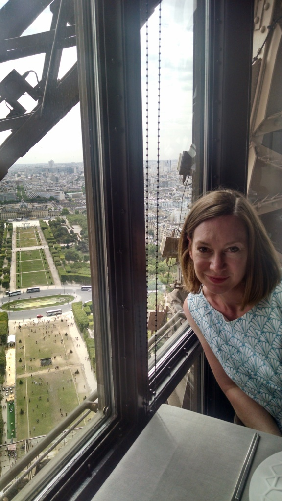 40 th Birthday lunch at the Jules Verne Restaurant in the Eiffel Tour