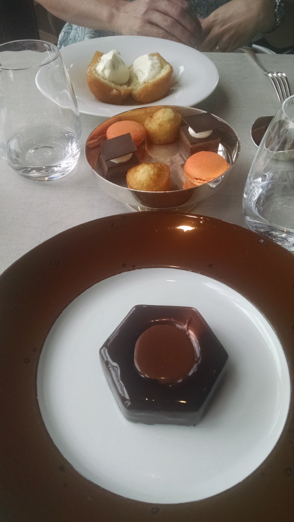 Jules Verne dessert course. Every single bite was delicious.