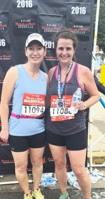 My friend Shannon rocked the full 26.2. (although I think she is breaking up with you as well)