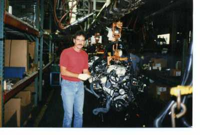 Dad worked for years on the line at GM