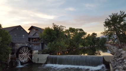 Running through Pigeon Forge on another weekend trip I ran past this quaint old mill at sunrise.