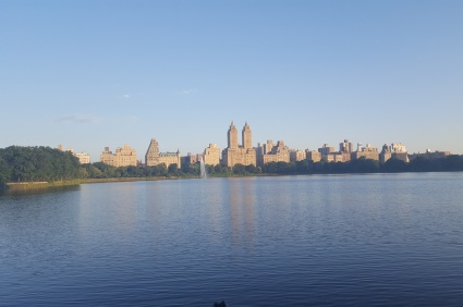 Run though Central Park.